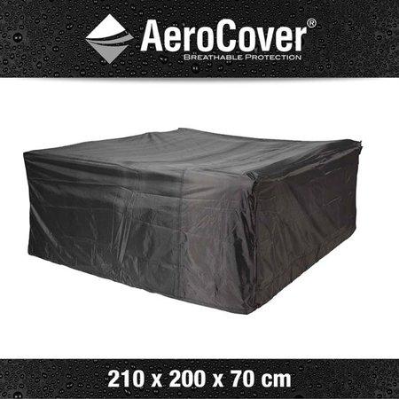 AeroCover Tuinmeubelhoezen Beschermhoes Loungeset 210 x 200 x 70 cm