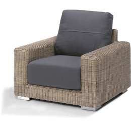 4 Seasons Outdoor Tuinmeubelen Loungestoel Kingston Pure