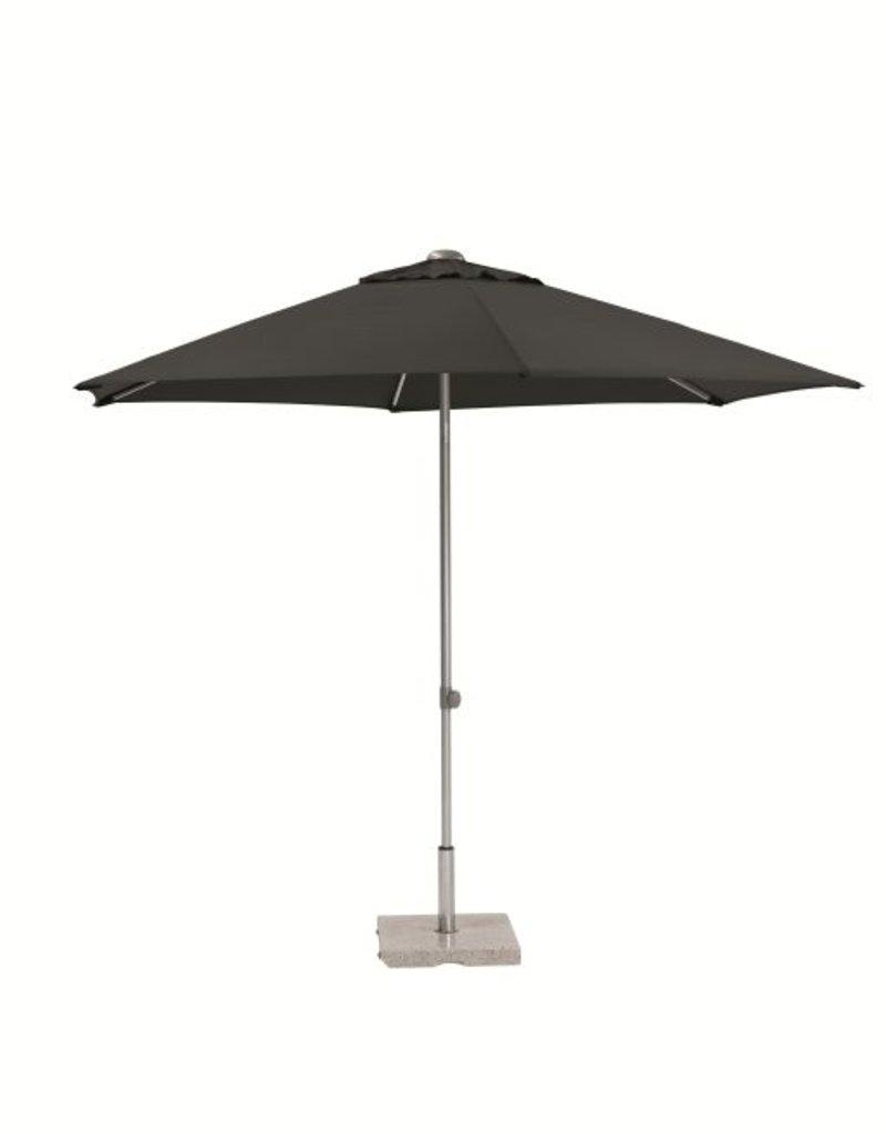 4 Seasons Outdoor Tuinmeubelen Parasol Push Up 250 cm ø Antraciet