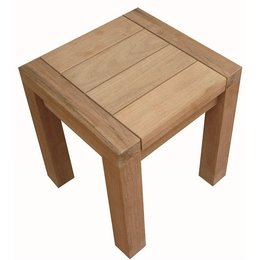 Traditional Teak Hocker Maxima 38 x 40 cm