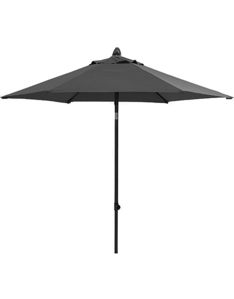 Beach7 Tuinmeubelen Parasol Poster Push Up 270 rond Antraciet