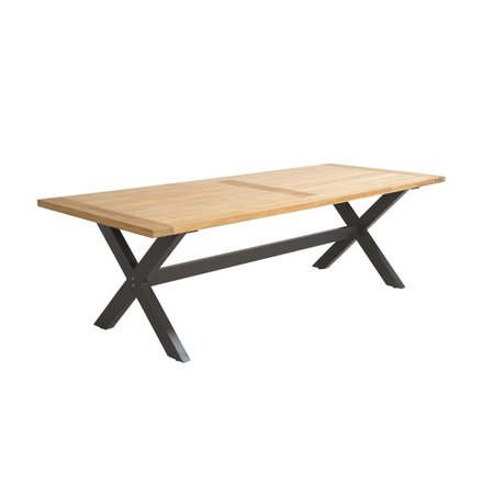 Beach7 Tuinmeubelen Tuintafel Moonlight Teak / Mystic Grey