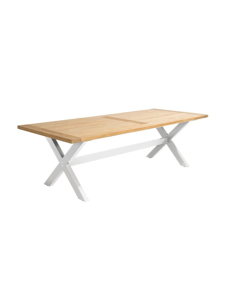 Beach7 Tuinmeubelen Tafel Moonlight White