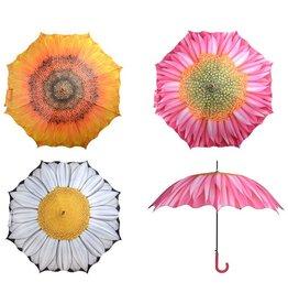 Paraplu bloemen ass.