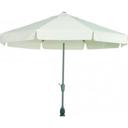 4 Seasons Outdoor Tuinmeubelen Parasol Toledo Ecru 300 cm rond