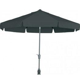 4 Seasons Outdoor Tuinmeubelen Parasol Toledo antraciet 300 cm rond