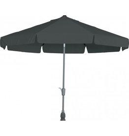 4 Seasons Outdoor Tuinmeubelen Parasol Toledo 350 cm rond antraciet