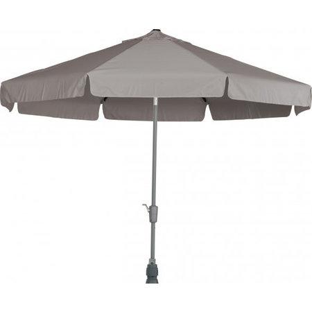 4 Seasons Outdoor Tuinmeubelen Parasol Toledo 350 rond Taupe