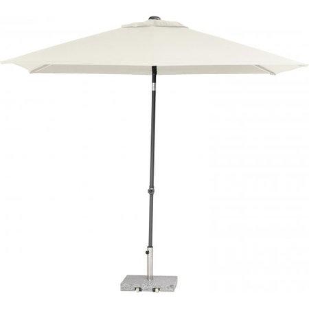 4 Seasons Outdoor Tuinmeubelen Parasol Push Up 200x250 cm Ecru