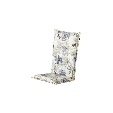 Hartman Tuinmeubelen Hoge rugkussen Flora Blue