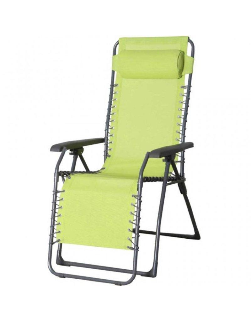 Lesli Relaxstoel Casper Lime Groen