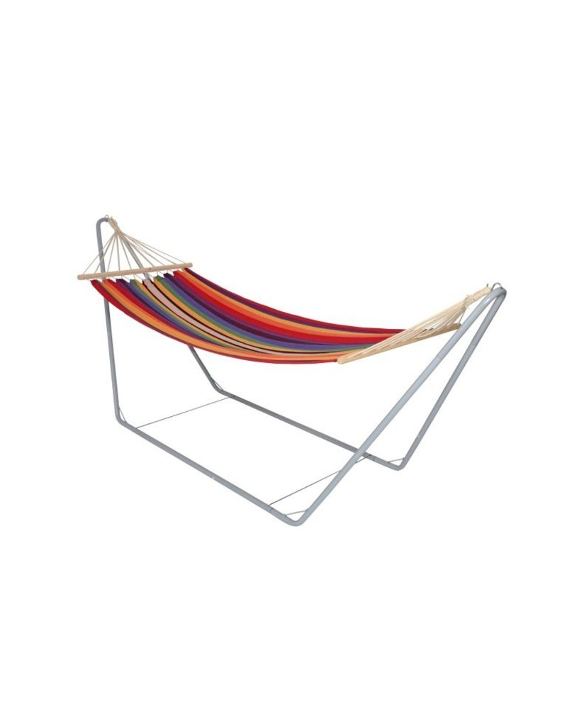 Hangmat met metalen frame