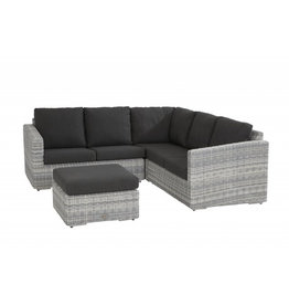 4 Seasons Outdoor Tuinmeubelen Loungeset Edge 4- delig