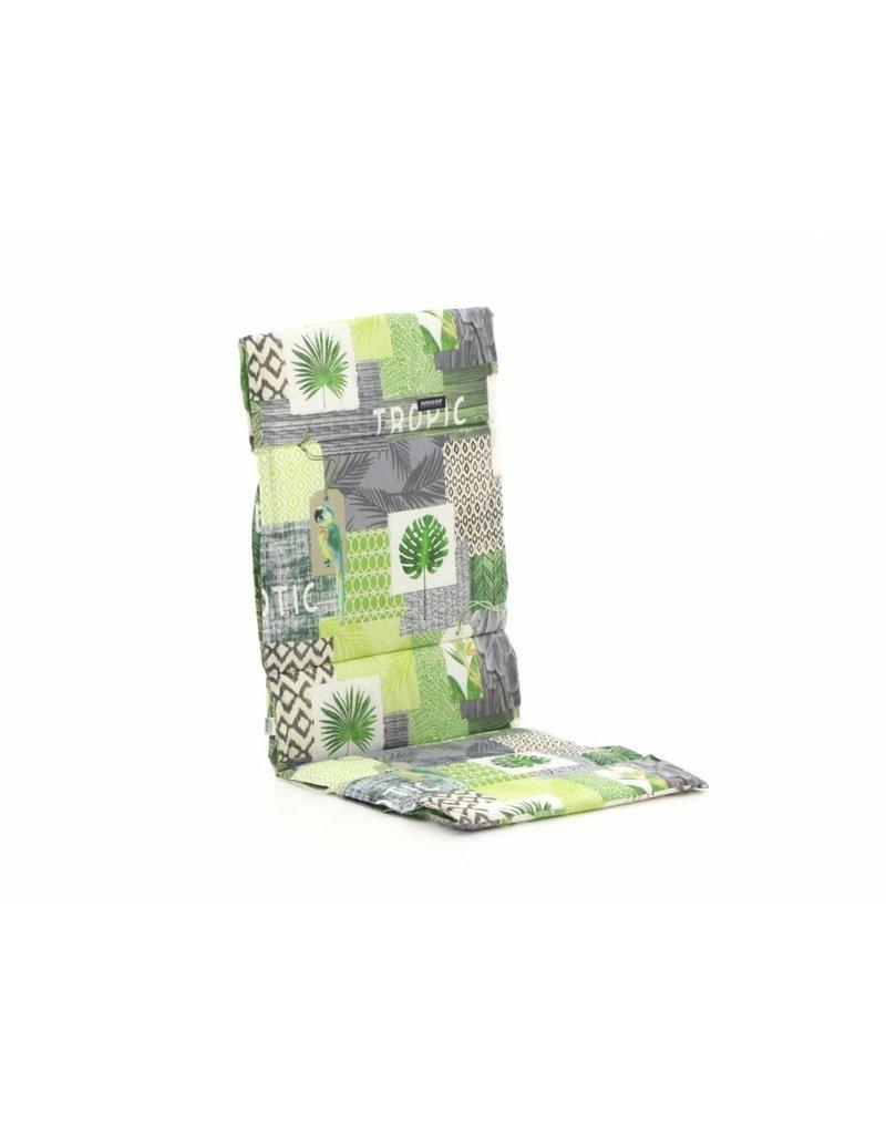 Slingkussen Tropic green