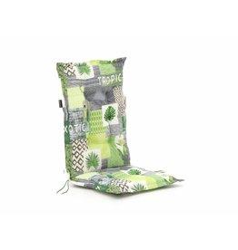 Hoge rugkussen Tropic green