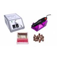 Mega Beauty Shop Nagelfrees MBS 2000 Zilver + 100 stuks schuurrolletjes!