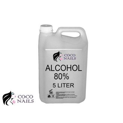 Coconails 5 liter Alcohol 80%