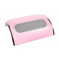 Merkloos Stofafzuiger voor manicure met 3 motoren Roze