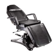 Mega Beauty Shop Behandelstoel/Pedicurestoel Zwart