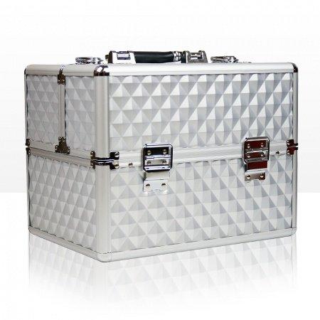 Koffer met opbergvakken