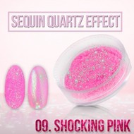 Seaquin Quarts effect - Shocking Pink (nr. 09)