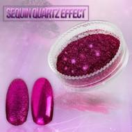 Merkloos Seaquin Quarts effect - Fuchsia (nr. 19)