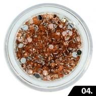 Merkloos Nailart Glas Steentjes 2 mm (nr. 04)