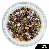 Merkloos Nailart Glas Steentjes 2 mm (nr. 21)