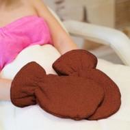 Mega Beauty Shop Badstof handschoenen Bruin