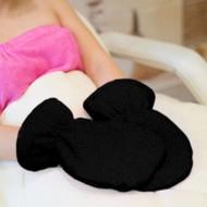 Mega Beauty Shop Badstof handschoenen Zwart