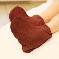 Mega Beauty Shop Badstof sokken Bruin
