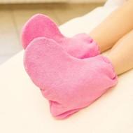 Mega Beauty Shop Badstof sokken Donker Roze