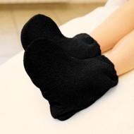Mega Beauty Shop Badstof sokken Zwart