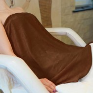 Mega Beauty Shop® Badstof omslagdoek Bruin