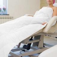 Mega Beauty Shop® Badstof gewatteerde deken Wit