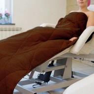 Mega Beauty Shop Badstof gewatteerde deken Bruin