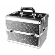 Mega Beauty Shop® Aluminium Koffer met stras