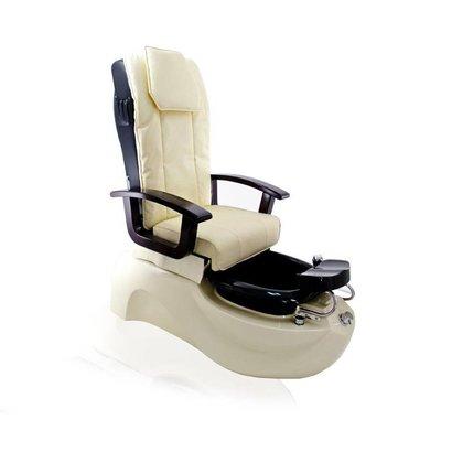 SPA Pedicurestoel met massage Ecru