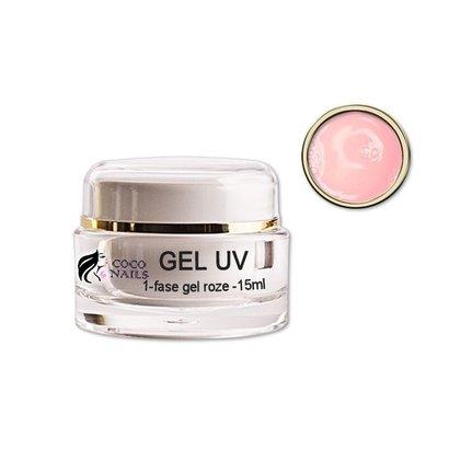 1-fase gel roze 15 ml