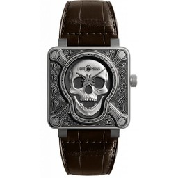 Bell & Ross Limited Edition  BR01Burning Skull BR01-92-SKULL-BURN