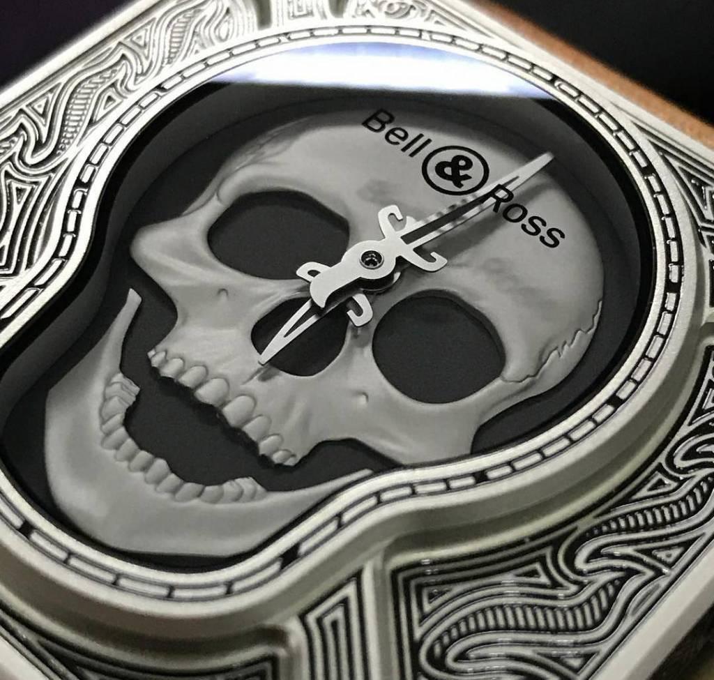Bell & Ross Bell & Ross Limited Edition BR01Burning Skull BR01-92-SKULL-BURN