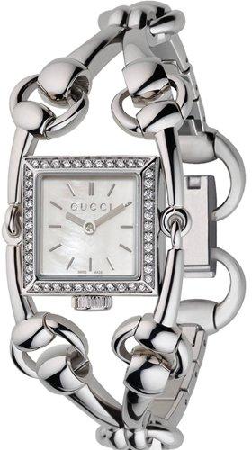 Gucci GucciSignoria Small staal/diamantYA116513