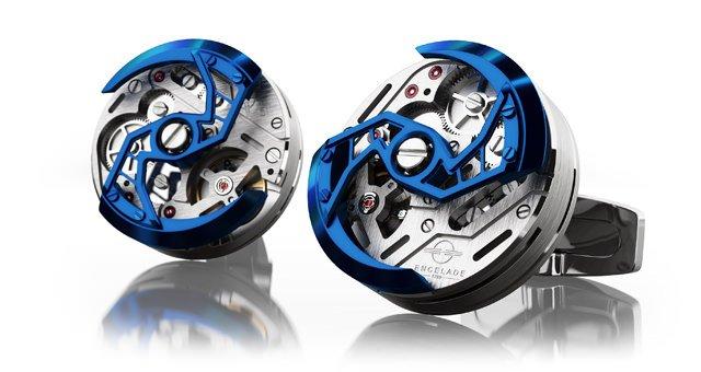 ENCELADE 1789 ENCELADE 1789 Encelade 1816 Rotor Blue/Steel PVD 1816 Rotor ST BL
