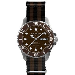 Oxygen Diver Grizzly Brown EX-D-GRI-44-BLBR