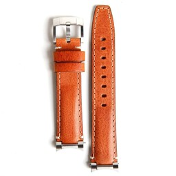 Everest Rolex straps tan Steel end Link Leather, EH3TAN
