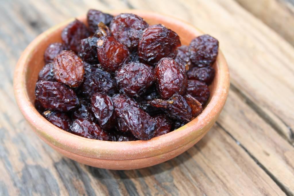 Gedroogde cranberries (veenbessen)