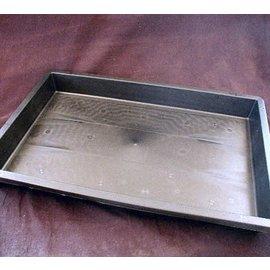 cajas de plástico 60 x 40 x 6 cm sin perforar