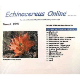 Echinocereus-Internet-Magazin-CD A. u. M. Ohr