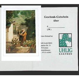 Certificado de regalo 20