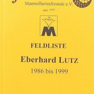 Feldnummern-Liste Eberhard Lutz 1986 bis 1999